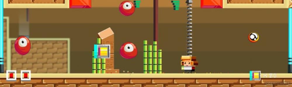 Spheroids - 2D platforming with a side of Pang