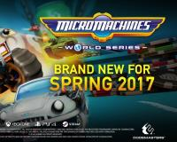 Micro Machines World Series Coming to PC on April 21