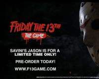 "Get a quick glimpse at Tom Savini's ""Custom Jason"" in Friday the 13th: The Game"