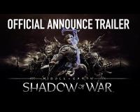 WB Games Announces Middle Earth: Shadow of War